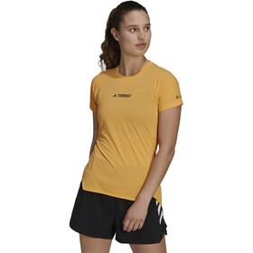 adidas TERREX Parley Agravic TR Allaround T-Shirt Women hazy orange